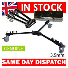 CAMLINK 20KG Tripod Dolly Adjustable & Retractable fits Camera Tripods DSLR