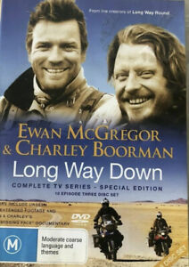 The Long Way Down-The Complete Series DVD, Special ED (PAL, 3 Disc) Free Post
