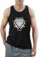 Hip Hop Solid Sleeveless T-Shirts for Men