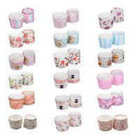 50 x Paper Cupcake Liners Cake Cup Baking Wedding Muffin Cases Cake Decor