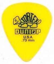 5 x Dunlop Tortex Giallo 0,73 mm CHITARRA Plectrums / prelievi-NUOVO di zecca!