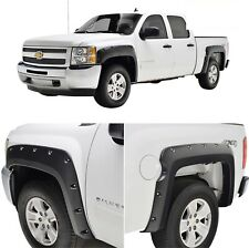 Maple4x4 07-13(5.8' SHORT Box Only) Chevy Silverado Pocket Riveted Fender Flares