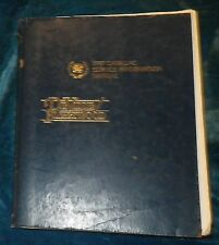 OOP 1987 CADILLAC FLEETWOOD DEVILLE GM FACTORY SERVICE INFORMATION MANUAL RARE