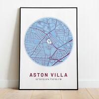 10 mtr claret and blue Aston villa bunting