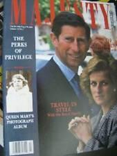 Majesty Magazine V10 #7 Charles At 41 & Politics, Royal Castles, Anne, Queen