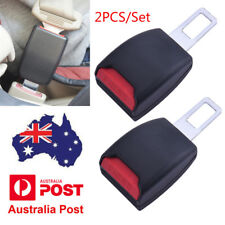 2pcs Universal Car Adjustable Safety Seat Belt Clip Extender Buckle Extension AU
