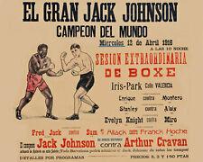 JACK JOHNSON vs ARTHUR CRAVAN PHOTO BOXING PICTURE