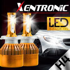 XENTRONIC LED HID Headlight kit H4 9003 White for 1991-1991 Mercedes-Benz 350SD