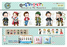 """""""Movies in my memory2'  counted cross stitch pattern leaflet. SODA SO-G97"""