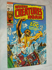 Where Creatures Roam #6 F- I brought Zog back to life