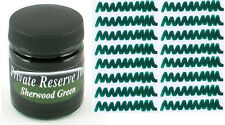 PRIVATE RESERVE - Fountain Pen Ink Bottle - SHERWOOD GREEN -  66ml - New