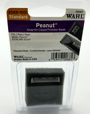 Wahl 2068-1001 Standard Peanut Replacement Clipper/Trimmer Blade Snap-On Black