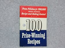 1st PILLSBURY BAKE OFF COOKBOOK  1950 Grand National Recipe Contest  EXCELLENT