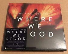 "The Pineapple Thief ""Where We Stood"" CD/DVD Sealed [Gavin Harrison Bruce Soord]"