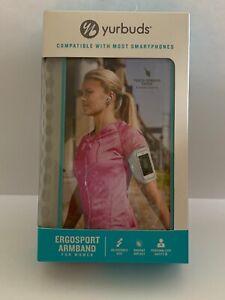 Yurbuds Ergosport Universal Reflecting Adjustable Sport Armband For Women NEW