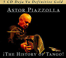 The History of Tango by Astor Piazzolla (CD, Nov-2006, 5 Discs, Retro Records (UK))