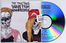 THE TING TINGS Sounds From Nowheresville UK promo test CD numbered