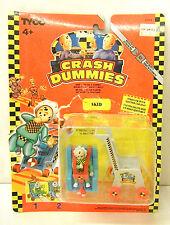 The Crash Dummies Skid Tyco 1991 Action Figure Generation 1 Stroller Vintage NOC