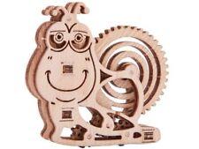 Mechanical Puzzle Wood Trick wooden 3D puzzle Snail Construction Set