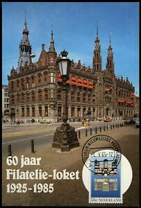 Netherlands 1985, 60 Years Philately Counter Postcard #W1337