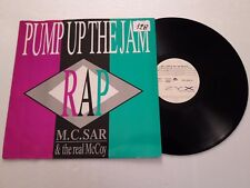 LP 9> Disco Vinile 12'' M.C. Sar & the real McCoy / Pump up the Jam - ZYX 6250