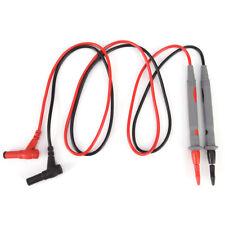 1Pair UNI-T 10A Digital Multimeter Test Leads Probe Extension Line Pen Cable DMM