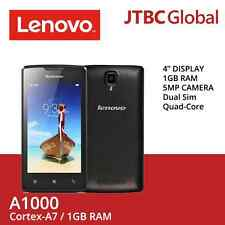 New Lenovo A1000 3G 4 Inch 8GB Dual Sim 5 MP Quad Core Factory Unlocked Phone