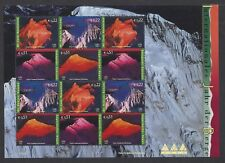 UN 2002 Year of Mountains Sheet of 12 Vienna 317a MNH