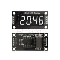"TM1637 0.36"" inch 7-Segment 4-Digit White LED Display Clock LED Tube Module"