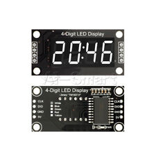 "TM1637 0.36"" inch 7-Segment 4-Digit White LED Display Clock LED Tube Module"