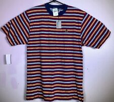Nwt Vtg Tommy Hilfiger Ringer Crest Tshirt Polo Rugby Boys Xl Lion Striped men S
