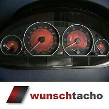 Tachoscheibe für Tacho BMW E46 Benziner *Flammen*  310 kmh