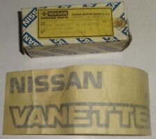 GENUINE NISSAN VANETTE REAR DOOR DECAL   90890-Y9513
