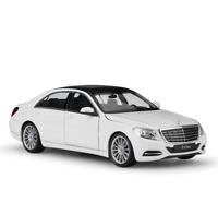 1:24 Mercedes Benz S-Class Metal Alloy Model Car Diecast Toys Gift Vehicles Boys