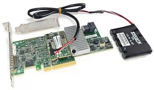 LSI Megaraid 9361-4i SATA / SAS 1GB Controller RAID 12G PCIe x8 3.0 Broadcom BBU