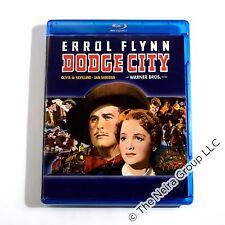 Dodge City Blu ray New Errol Flynn Olivia de Haviland Ann Sheridan Bruch Cabot