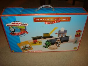 Thomas & Friends Percy Takes the Plunge train set; Learning Curve, Rare, Used