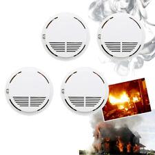 4X Rauchmelder Gasmelder Detector Feuermelder Brandmelder Batterien mitschicken