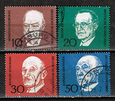 Germany Famous People Winston Churchill stamps set 1951