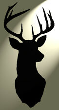 Shabby Chic Stencil Cervo Deer Head VINTAGE a5 148x210mm foglio di plastica muro