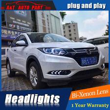 Headlights assembly 2015-2018 For Honda HR-V Bi-xenon Lens Projector LED DRL