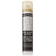 Jerome Russell Hair and Body Glitter Spray, Gold 2.2 oz (Pack of 2)