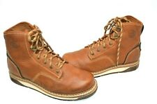 """GEORGIA BOOT 11 M AMP LT WEDGE 6"""" EH-RATED SOFT TOE WORK BOOTS GB00347"""