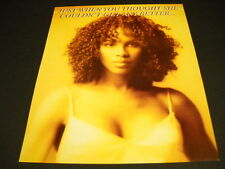 TONI BRAXTON Just When You Thought She Couldn't Get Any Better 1996 PROMO AD