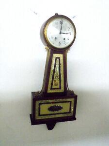 Nice Seth Thomas Pendulum Driven Banjo Clock Circa 1935