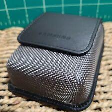 Original Samsung Leather Magnetic Flap Camera Case for compact camera Belt