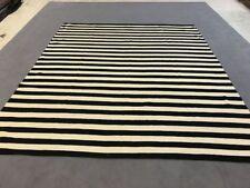 modern Kaudani  KELIM Teppich /Flachgewebe 300x260 cm