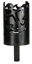 Anker Fackel - Set mit Stiel und Wachsrollen Gartenfackel Feuerschale