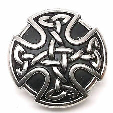 "Celtic Shield Armour Line 24 Decorative Snap Cap Nickel 1"" 1265-63 Stecksstore"