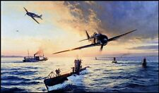 ROBERT TAYLOR Homecoming Fw190 JG2 U-Boat 9th Submarine Flotilla SOLD OUT RARE!